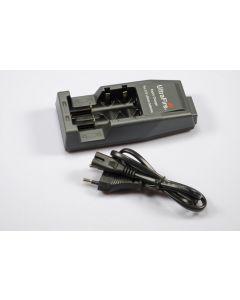 UltraFire WF-139 cargador para baterías de litio recargables 18650/CR123A/14500