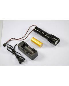 2180 UF UniqueFire Cree XM-L T6 3-modo 1200 lúmenes memoria LED linterna incluida battry y cargador