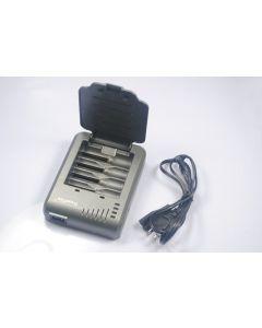 Trustfire TR - 003P 4 batería recargable cargador para 10440/14500/16340/17670/18500/18650