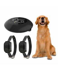Nuevo sistema electrónico inalámbrico de la cerca del perro del animal doméstico y el collar del entrenamiento del perro del golpe de la vibración del choque y la función de la cerca