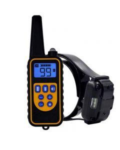 2020 Nuevo Dispositivo de entrenamiento de perros Cuello de corte Cuello PET PET DOG VIBRATION Control remoto Drive Drive Ultrasonic Electronic Collar Double Vibration
