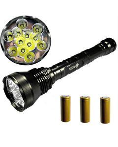 EternalFire 12T6 alta potencia 12 * Cree XM-L T6 LED antorcha 13800 Lumens 5 modos linterna LED Set completo Set