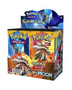 Pokemon Tarjetas TCG: Tarjeta de comercio de Caja de Booster Sun & Moon 36 paquetes