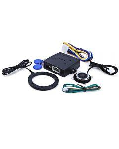 Coche coche motor Push Start botón RFID cerradura ignición arranque Keyless de la entrada inicio parada Inmovilizador antirrobo sistema de alarma auto