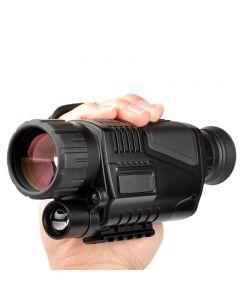 infrarrojo de infrarrojos visión nocturna Monocular Night Vision 5 x 40 alcance Digital para telescopio de caza largo rango con cámara incorporada