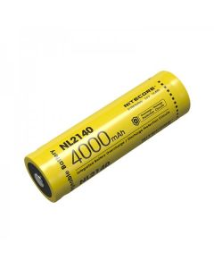 NITECORE NL2140 4000mAh 3.6V 14.4Wh 21700 Li-ion Batería recargable