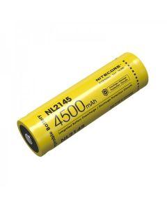 NITECORE NL2145 4500mAh 3.6V 16.2Wh 21700 Li-ion Batería recargable