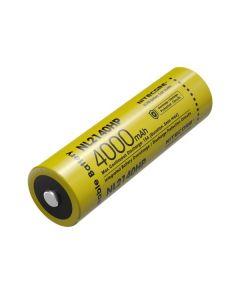 NITECORE NL2140HP 4000mAh 3.6V 14.4Wh 21700 Li-ion Batería recargable