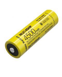 NITECORE NL2145HP 4500mAh 3.6V 16.2Wh 21700 Li-ion Batería recargable