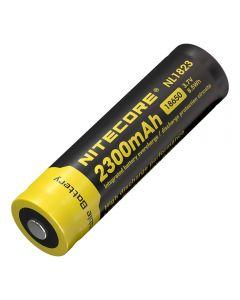 Nitecore 18650 NL1823 2300 3.7v 8.5Wh Batería recargable de iones de litio