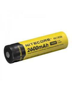 Nitecore 18650 NL1826 2600 3.7v 9.6Wh Batería recargable de iones de litio
