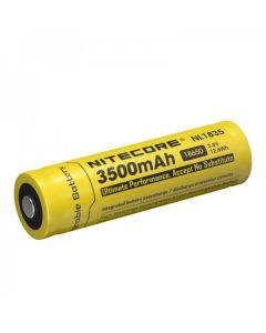 Nitecore 18650 NL1835 3500 3.6v .6Wh Batería recargable de iones de litio