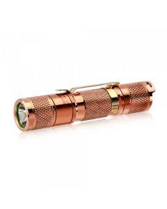 Herramienta Lumintop AA 2.0 Cobre Cree XP-L HD LED 650 lúmenes AA/14500 EDC Linterna