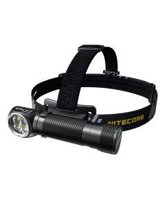 Nitecore HC35 4 x CREE XP-G3 S3 LED 2700 lúmenes 4 metros 21700 batería USB faro recargable