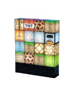 Night Lamp DIY Blocks Novelty Desk Lamp Fun for Kids Stackable Stitching Stand Lamp Decoration Ornament