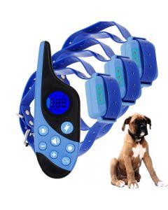 2021 Nuevo Nuevo 500M Colvante de Transporte de Priguridad de Perro Pet Remoto Recargable Recargable Con Pantalla Lcd Para Todo el TamaÑO Sonido de VibraciÓN de TamaÑO