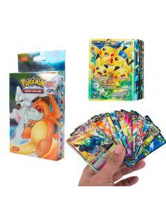 100 tarjetas de Pokémon surtidas 20MEGA 58BASIC 20GX 1TAG TEAM 1ENERGY Booster Box Tarjetas de intercambio