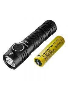 Nitecore E4K 4 x CREE XP-L2 V6 LED 4400 lúmenes 21700 linterna de la batería