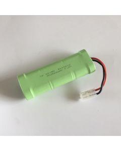 Ni-MH 7.2V 2500mAh SC (3 3) RC White Plug Battery Pack