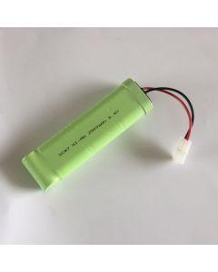 Ni-MH 8.4V SC * 7 2500mAh RC enchufe blanco paquete de batería
