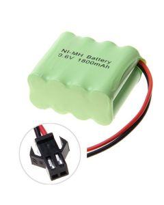 Ni-MH AA sm plug 9.6V 1800mAh Batería