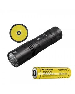 Nitecore R40 V2 CREE XP-L2 V6 LED 1200 lúmenes USB recargable 21700 Linterna de batería