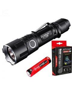 KLARUS XT11GT CREE XPH35 HD E4 Lumen 2000 LED Linterna táctica