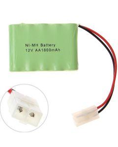 Paquete de batería de ni-MH AA V 1800mAh enchufe blanco grande