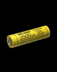 Batería recargable de Nitecore IMR18650 2500mAh 35A-1pc