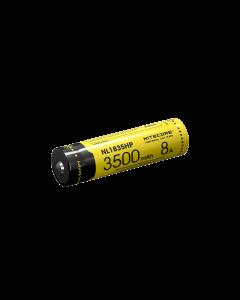 3500mAh Nitecore NL1835HP 3.6V .6Wh 8A alto rendimiento 18650 batería