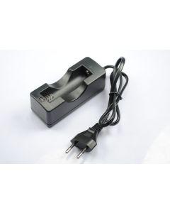 Solo cargador de batería recargable 18650