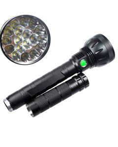UltraFire 18T6 26000-Lumen 18xCree XM-L T6 5-el modo de memoria LED linterna antorcha