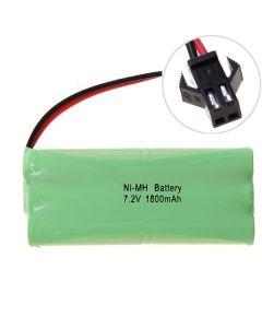 Ni-MH AA 1800mAh 7.2V Big SM Plug Batería