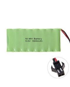 Ni-MH AA 9.6V 1800mAh SM enchufe batería