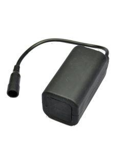 Impermeable 8.4V 4 * 18650 batería recargable para luces de bicicleta