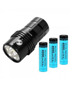 IMALENT MS06 6 CREE XHP70.2 25000 lúmenes Linterna LED