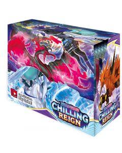 360pcs Pokémon TCG: Sword & Shield Chilling Reign Booster Caja de presentación Colección Juego de cartas Juguete Regalo para niños