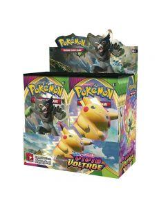 360 unids Pokémonas TCG: Espada y escudo VIVIVID TOLTAGE BOOSTETE BOOSTER ENGLISE JUEGO TARJETAS DE COMERCIO-36 PAQUETES