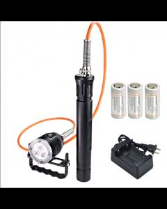 ARCHON DH30 II y WH36 II 3 * CREE XM-L2 U2 3 modos 3600-Lumes 0m LED frasco buceo de luz