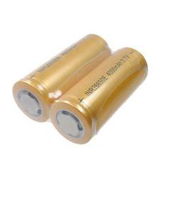 Alta capacidad 26650 4000mAh Li-ion batería recargable (1 par)