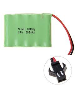 Ni-MH AA 1800mAh 6V Big SM Plug Batería