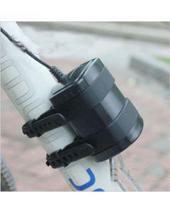 Pack de 4 * 18650 batería recargable 8.4V impermeable para bicicleta luces