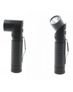 USB recargable LED CREE XM-L T6 700 lúmenes linterna ajustable linterna imán antorcha