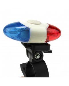 4 LED Super Brillante Luz de Seguridad XI-908 4 Modos Luz Trasera bicicleta