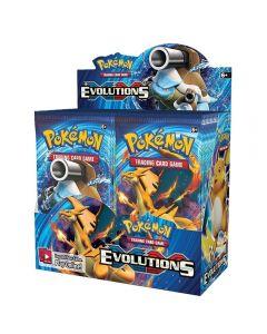 Pokemon TCG: XY Evolutions Caja de refuerzo sellada Tarjetas de comercio coleccionables 36 paquetes