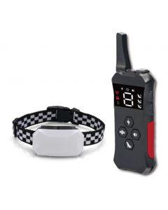 2021 Nuevo collar de entrenamiento para perros con collar de choque impermeable recargable remoto para perros 3 modos de entrenamiento, beep vibración y shock