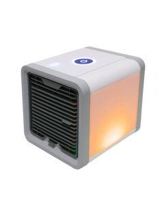 USB Mini portátil aire acondicionado humidificador purificador 7 colores luz de escritorio ventilador de aire ventilador ventilador de aire para la oficina en casa