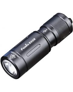 Fenix E02R Cree XP-G2 S3 blanco LED 200 lúmenes USB linterna de llavero recargable