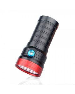 Sky Ray S 8 18T6 18xCree XM-L T6 15000-Lumen USB linterna LED recargable antorcha