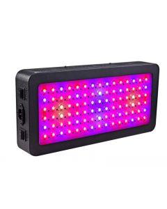 LED crece la luz, luz de planta de espectro completo de 600 vatios con interruptor, IR y UV creciente lámpara Kits para invernadero hidropónico plántulas Veg y flor